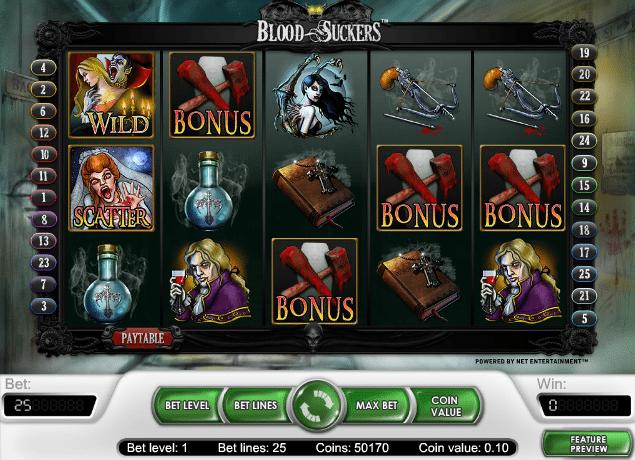 Blood Suckers II Spielautomat - Jetzt Gratis Online Spielen