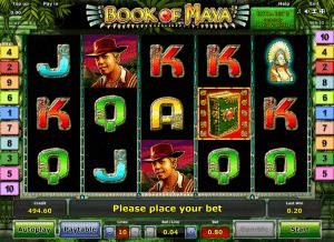 Book of Maya Online Kostenlos Spielautomat