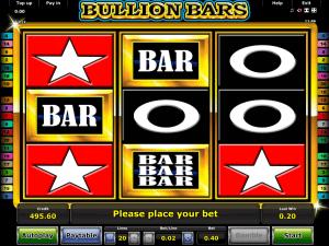Bullion Bars Kostenlos Online Spielautomat