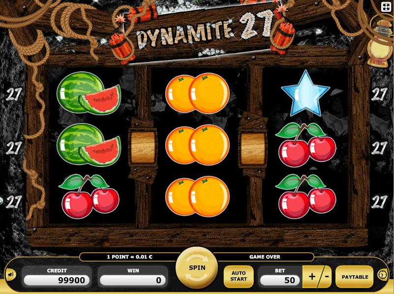 Kostenlose Spielautomat Dynamite 27 Online