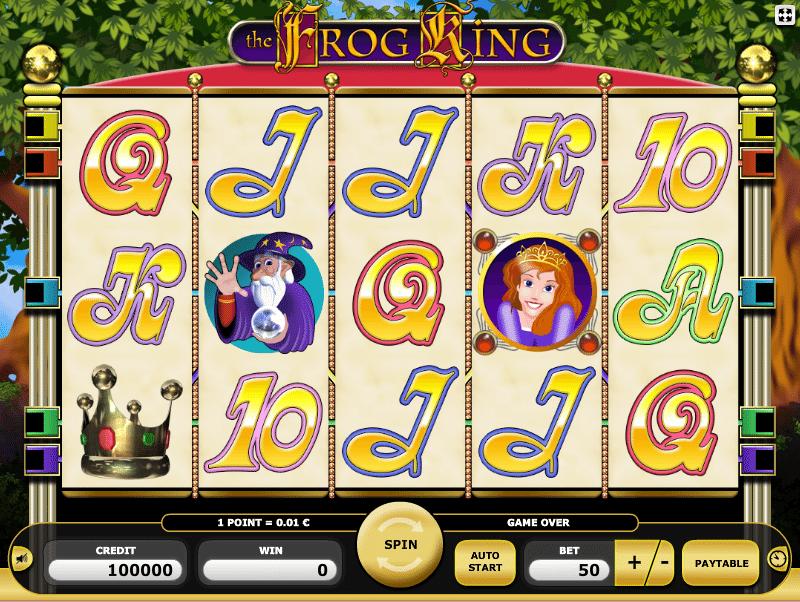 Frog King Kajot Spielautomat Kostenlos Spielen