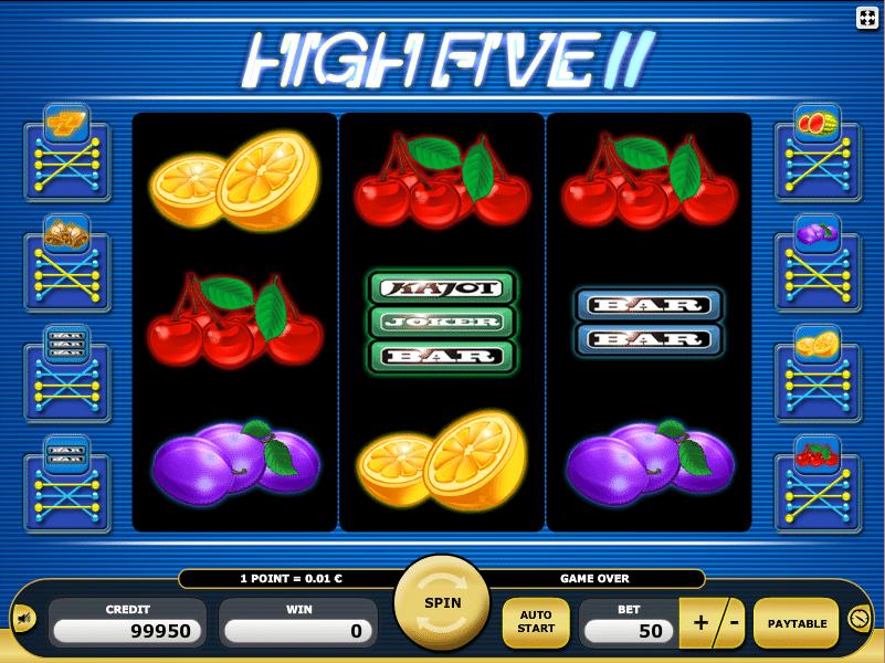 high five casino online