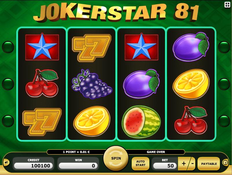 Jokerstar 81 Online Casino Spiele Kostenlos Spielen