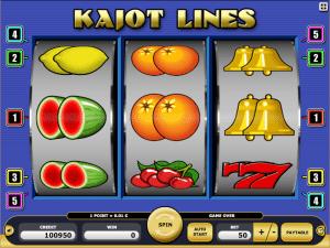 Kajot Lines Online Casino Spiele Spielen