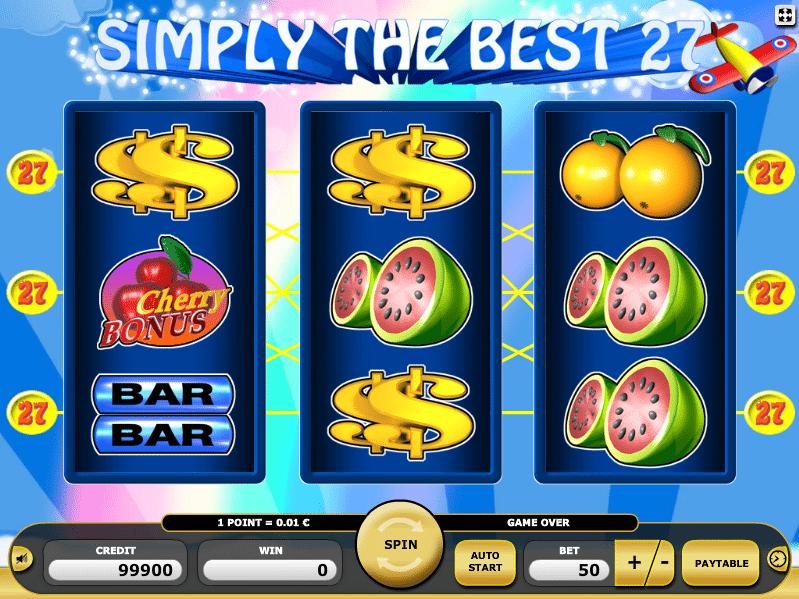 Simply the Best 27 Kajot Spielautomat Kostenlos
