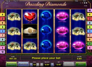 Online Spielautomat Dazzling Diamonds Kostenlos Spielen