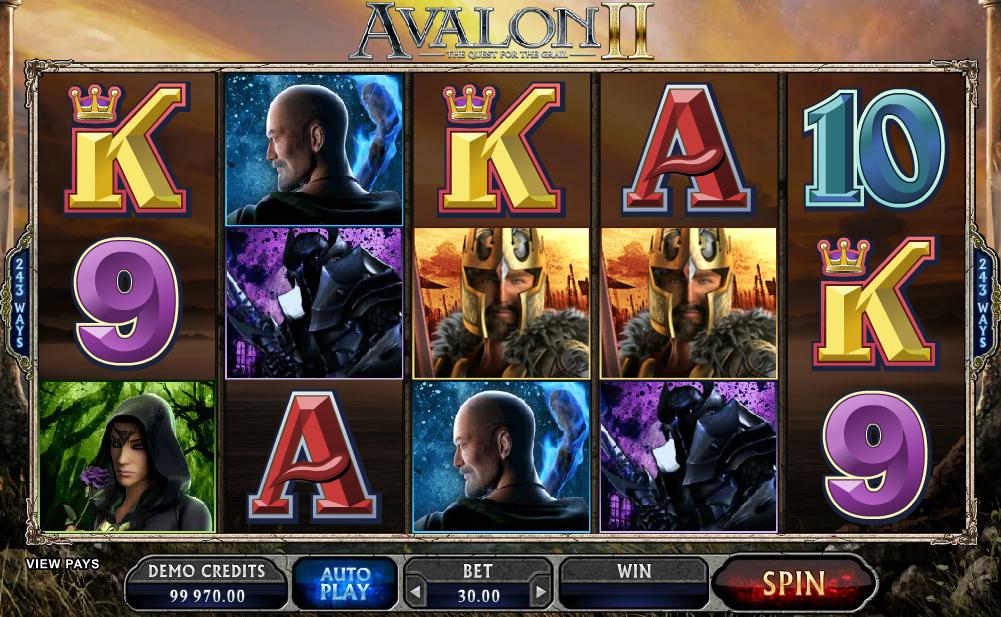 Kostenlose Spielautomat Avalon 2 Online