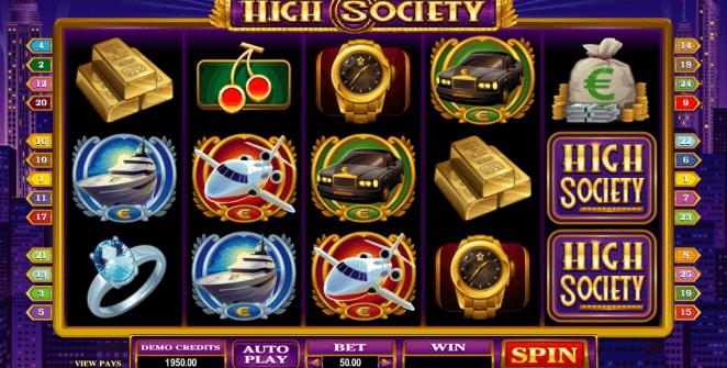 High Society Spielautomat Kostenlos Spielen