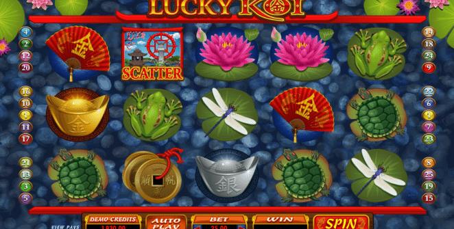 Kostenlose Spielautomat Lucky Koi Online