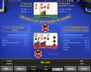 Kostenlose Spielautomat Royal Crown Three Card Brag Online