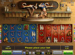 Secrets Of The Sand Spielautomat Kostenlos Spielen