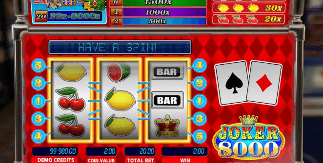 Kostenlose Spielautomat Joker 8000 Online