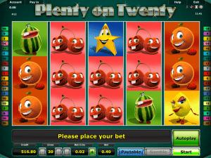 Spielautomat Plenty On Twenty Online Kostenlos Spielen