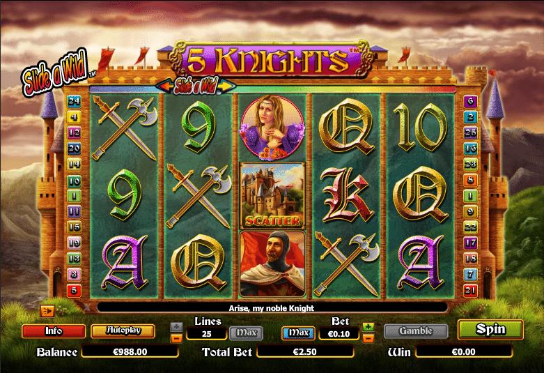 Spielautomat 5 Knights Online Kostenlos Spielen
