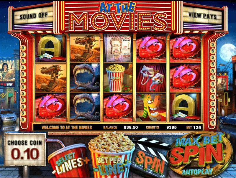 Kostenlose Spielautomat At The Movies Online