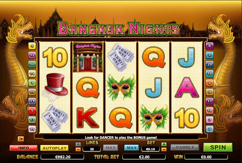 Kostenlose Spielautomat Bangkok Nights Online
