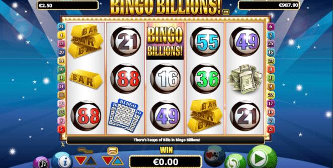 Bingo Billions Spielautomat Kostenlos Spielen