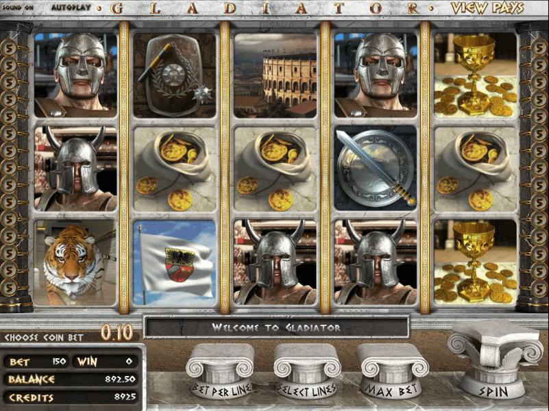 Gladiators Slot - Spielen Sie dieses Casino-Spiel gratis online