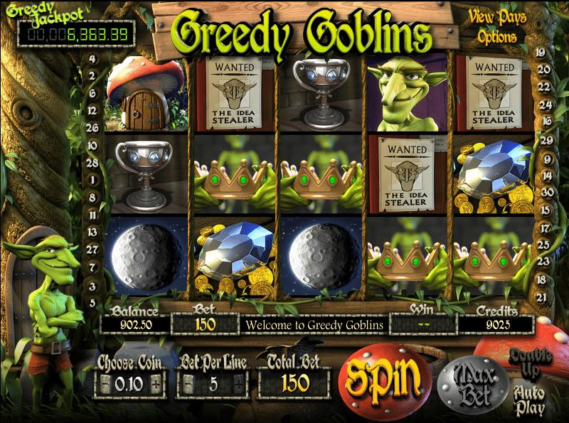 Kostenlose Spielautomat Greedy Goblins Online