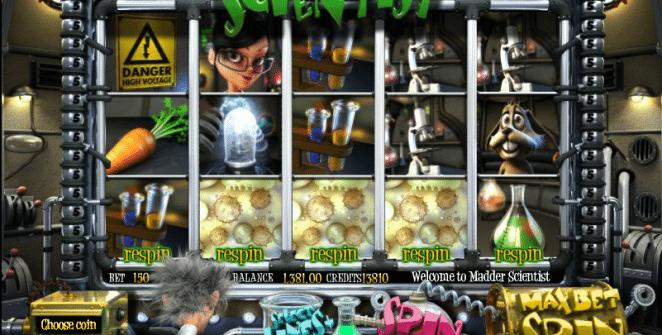 Spielautomat Madder Scitentist Online Kostenlos Spielen