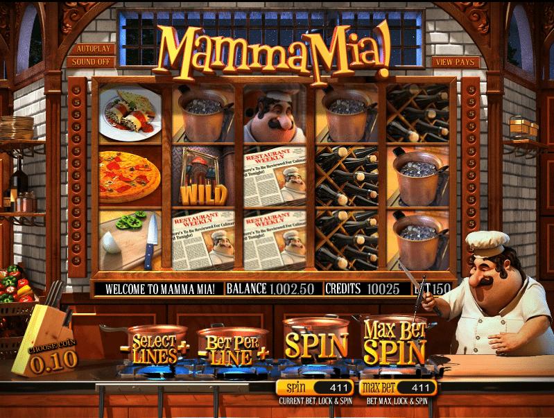 Kostenlose Spielautomat Mamma Mia Online