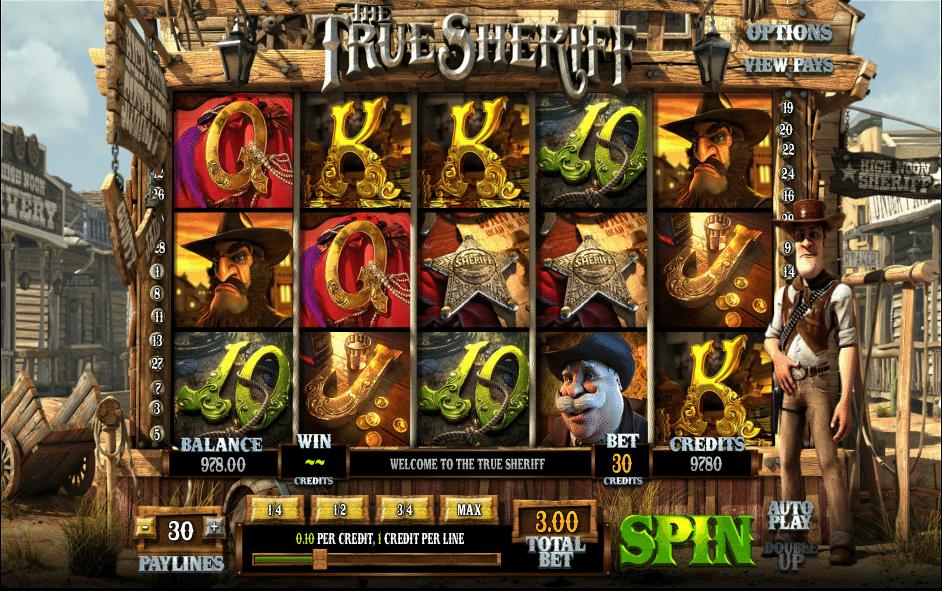 Kostenlose Spielautomat The True Sheriff Online