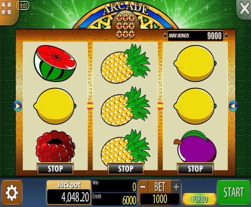 Kostenlose Spielautomat Arcade Online