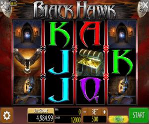Kostenlose Spielautomat Black Hawk Online