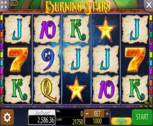 Kostenlose Spielautomat Burning Stars Online