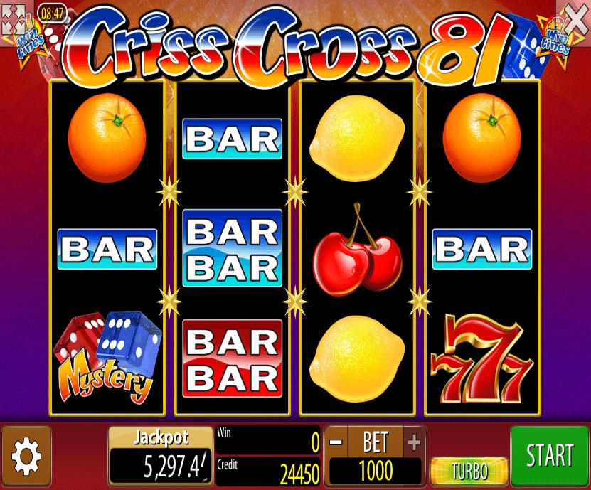 Criss Cross 81 Spielautomat Kostenlos Spielen