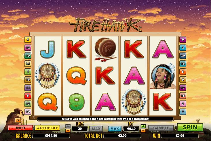 Fire Hawk Spielautomat Kostenlos Spielen