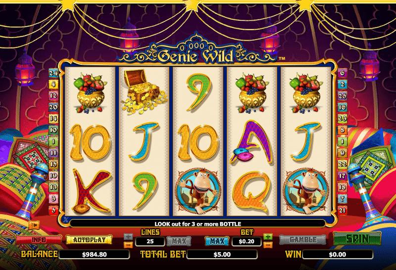 Casino Spiele Genie Wild Online Kostenlos Spielen