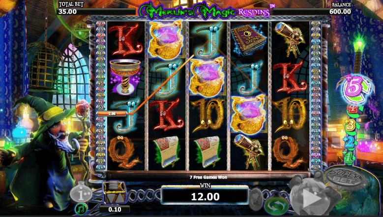 Spielautomat Merlins Magic Respins Online Kostenlos Spielen