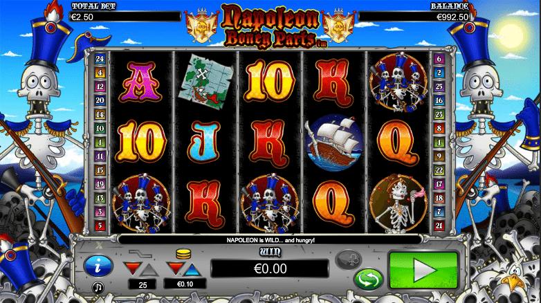 Spielautomat Napoleon Boney Parts Online Kostenlos Spielen