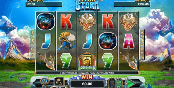 Spielautomat Titan Storm Online Kostenlos Spielen