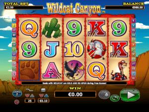 Spielautomat Wildcat Canyon Online Kostenlos Spielen