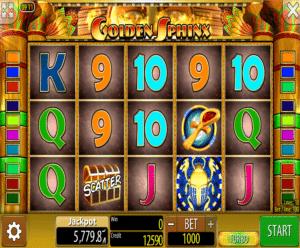 Kostenlose Spielautomat Golden Sphinx Online