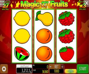 Poloautomat Magic Fruits 27 Online Kostenlos Spielen