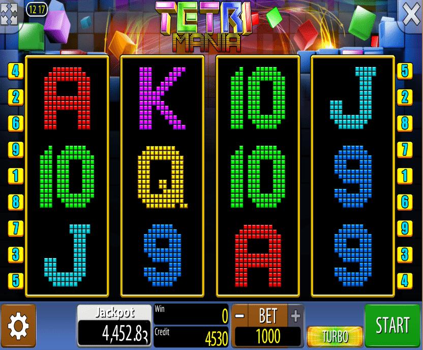 Tetri Mania Spielautomat Kostenlos Spielen