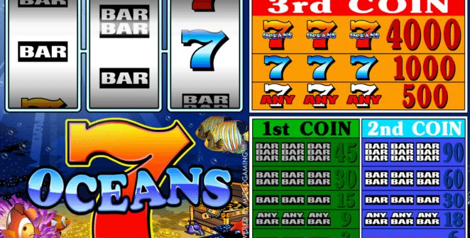 Kostenlose Spielautomat 7 Oceans Online