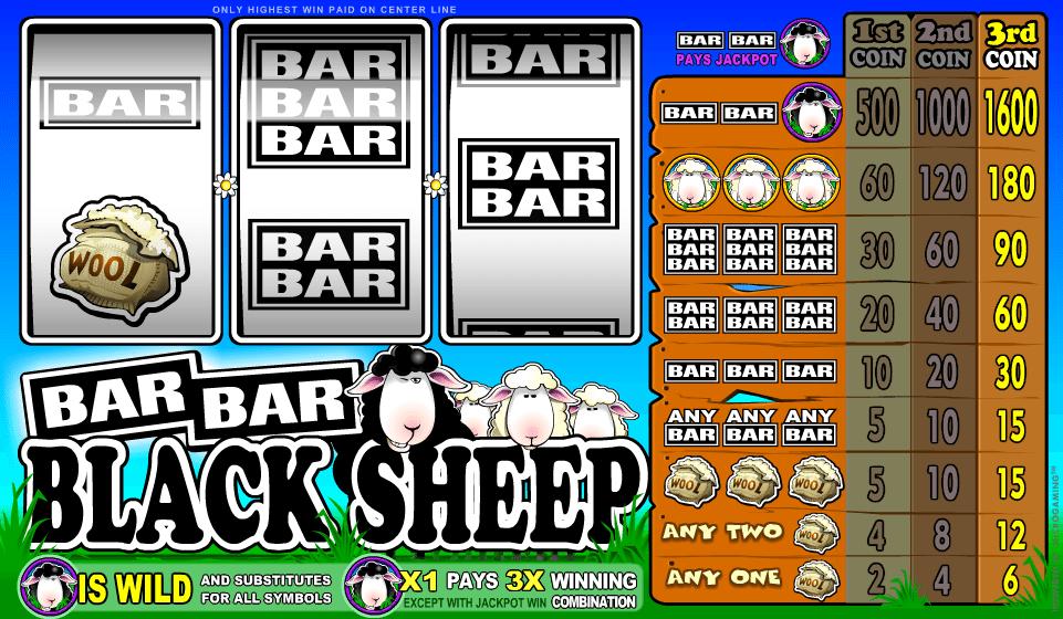 Kostenlose Spielautomat Bar Bar Black Sheep Online