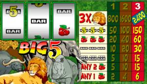 Poloautomat Big 5 Online Kostenlos Spielen