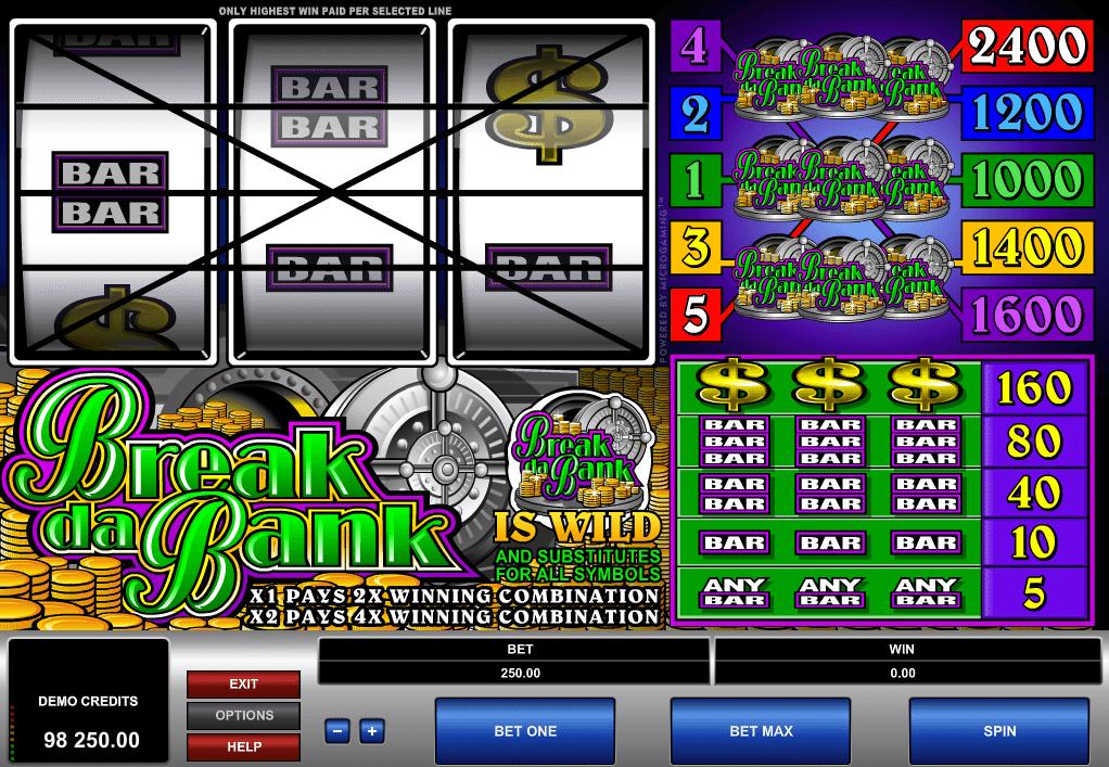 Poloautomat Break Da Bank Online Kostenlos Spielen