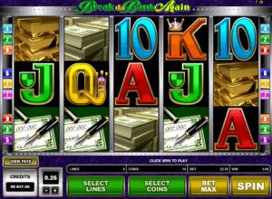 Kostenlose Spielautomat Break Da Bank Again Online