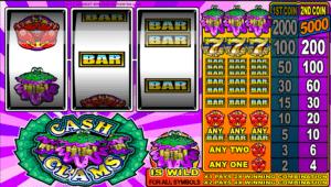 Cash Clams Spielautomat Kostenlos Spielen