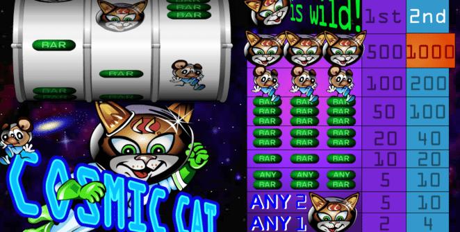 Poloautomat Cosmic Cat Online Kostenlos Spielen
