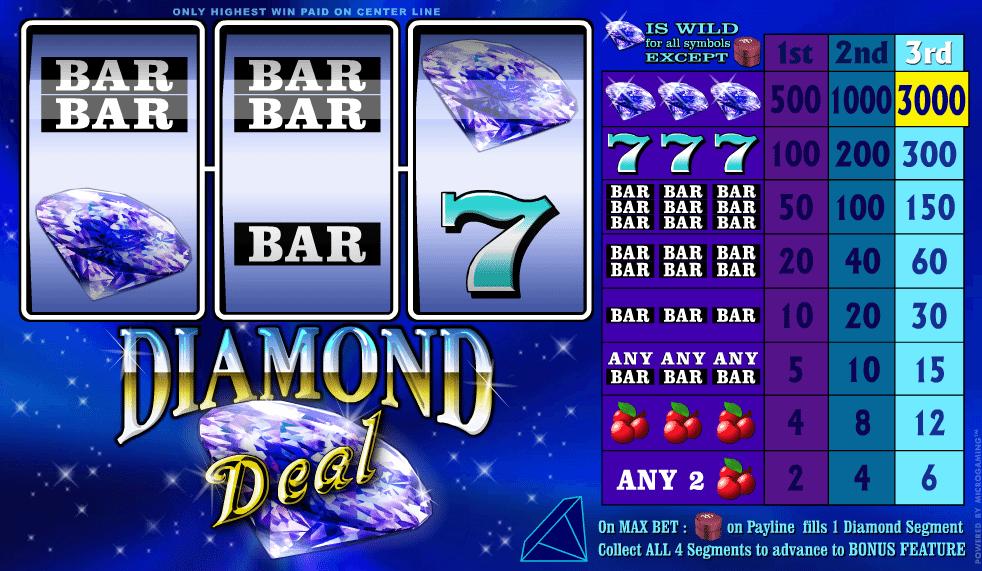 Diamond Deal Spielautomat Kostenlos Spielen