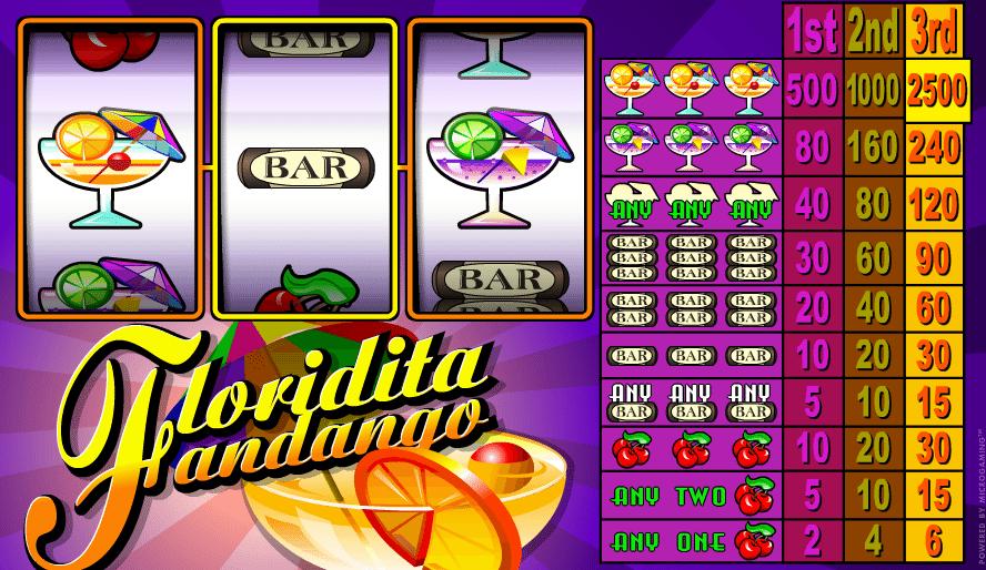 Kostenlose Spielautomat Floridita Fandango Online
