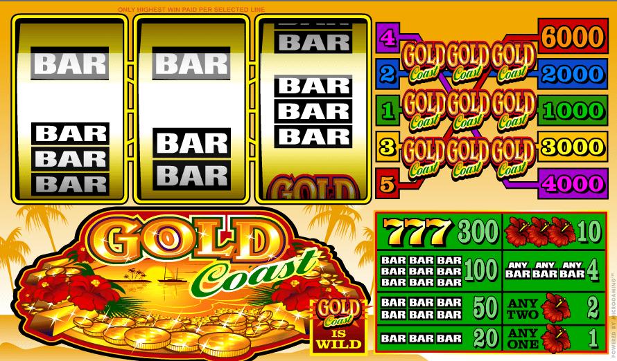 Kostenlose Spielautomat Gold Coast Online