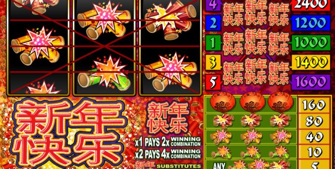 Spielautomat Happy New Year Online Kostenlos Spielen